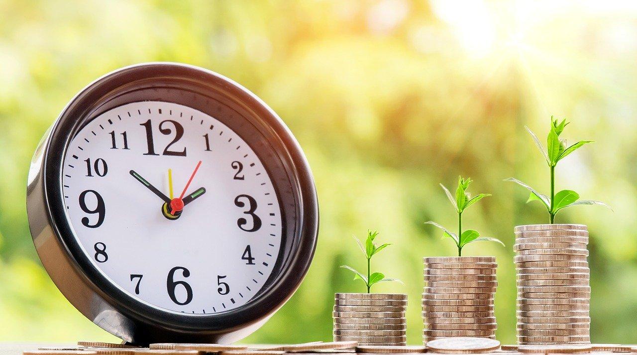 Geld wächst mit der Zeit