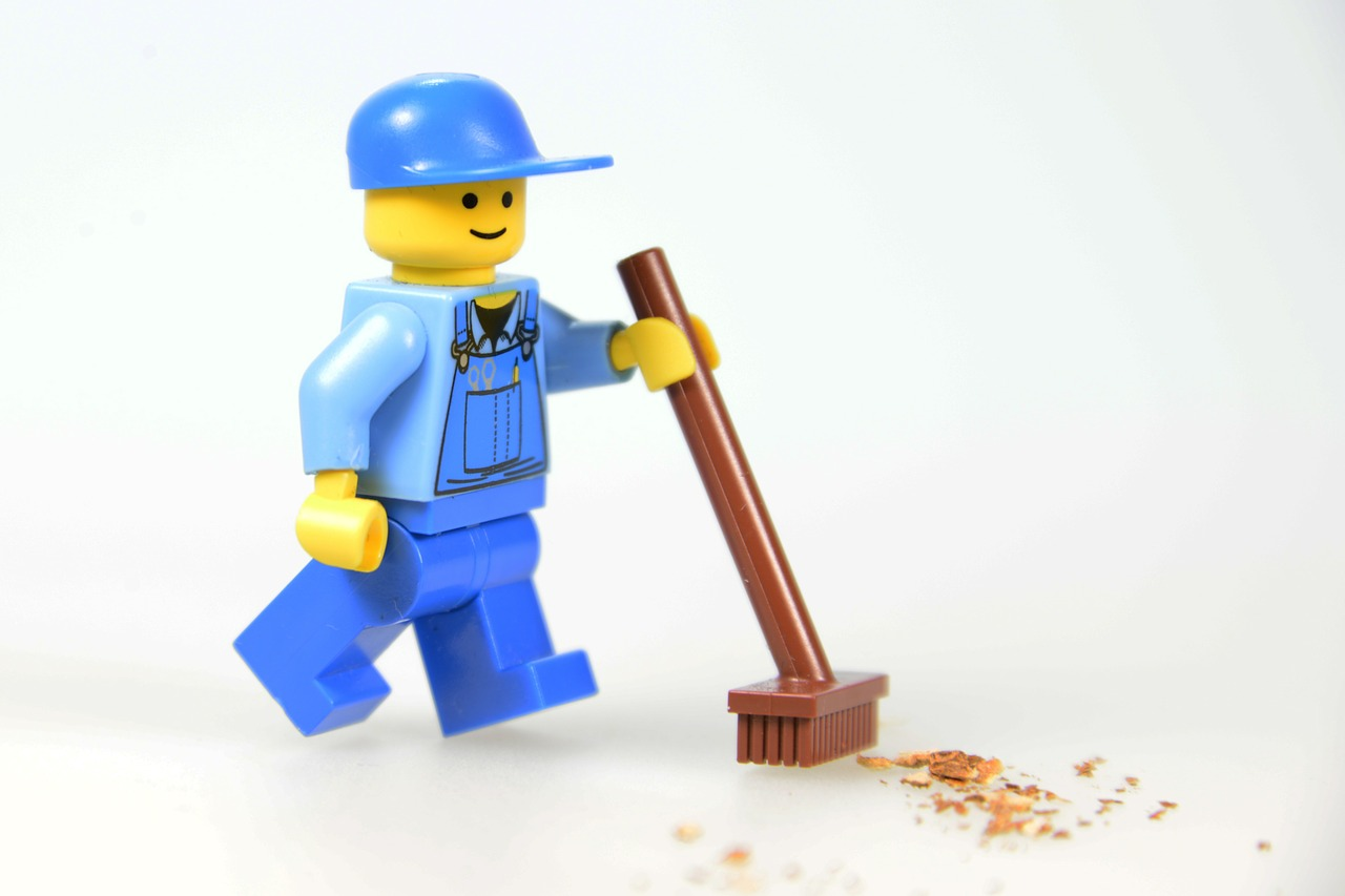 Lego Strassenkehrer